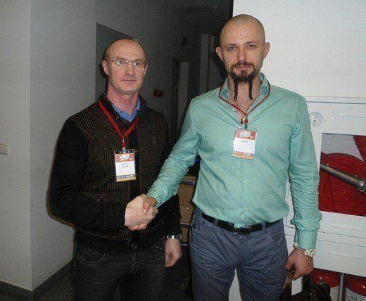 С Алексеем Маматовым