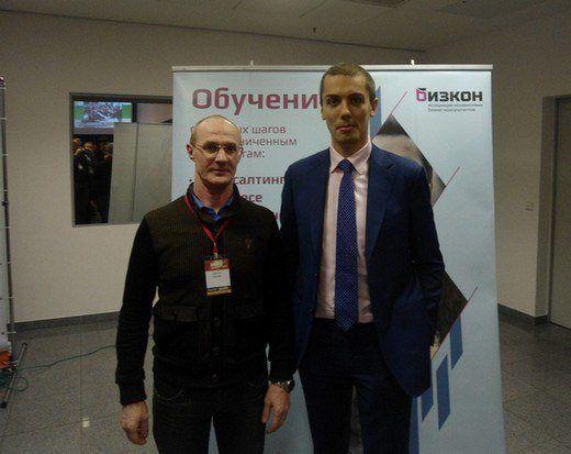 С Николаем Мрочковским
